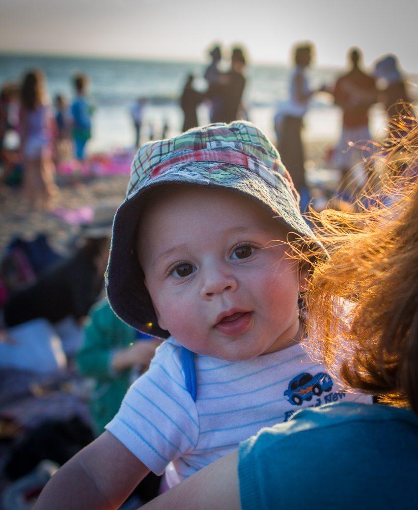 beach baby.